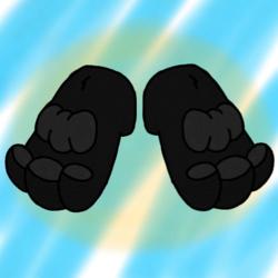 Vinny's Feet by Billy The Fox