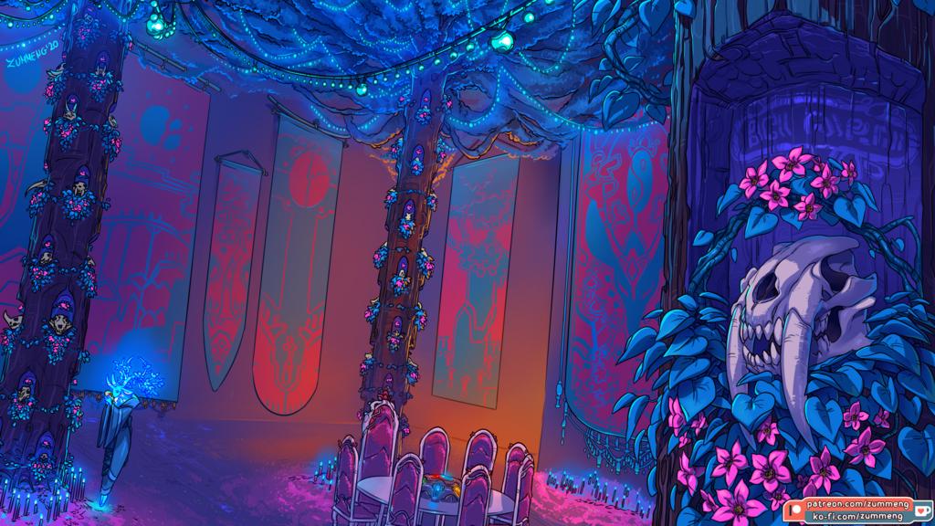 Hall of Ancients - Patreon Vote Winner [4k wallpaper]