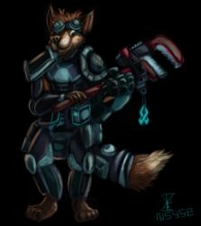 Bliitz the fox tinkerer