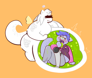 Hhh this plant matter is delicious...