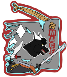 [C] Mace's FWA Flag Badge