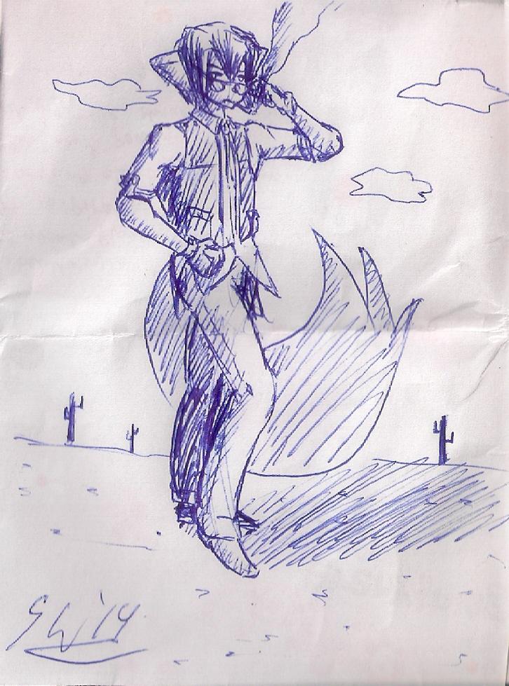 receipt sketch: desert smoke