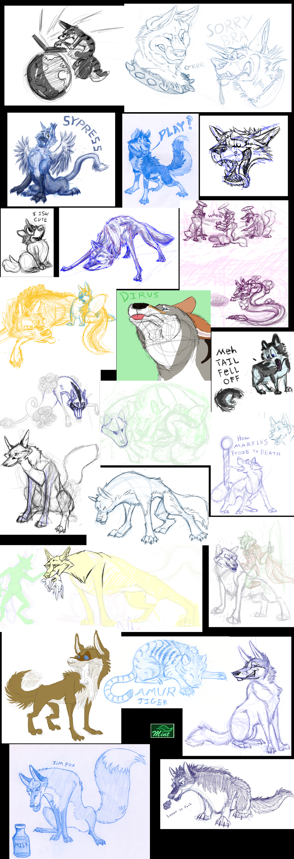 (OLD Doodle Tower) 2008 - 2011 Ferals