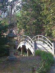 Maymont Japanese Gardens [bridge]