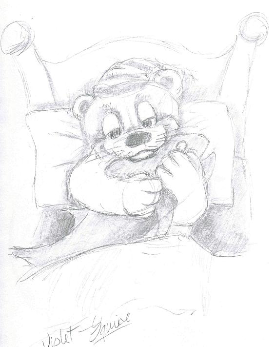 Violet otter