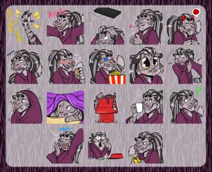 [commission] Telegram Stickers: Kellic #3