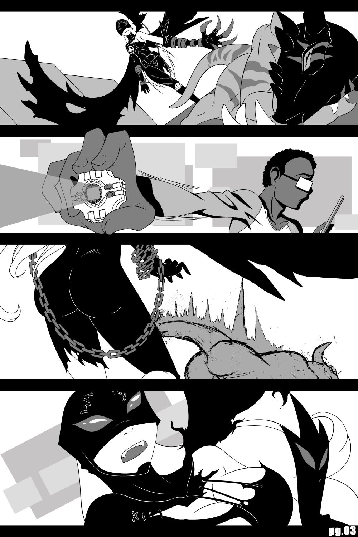 Digimon Porn Story pg.03 (2012)