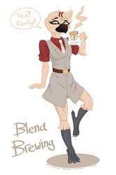 Blend Brewing - Art Trade