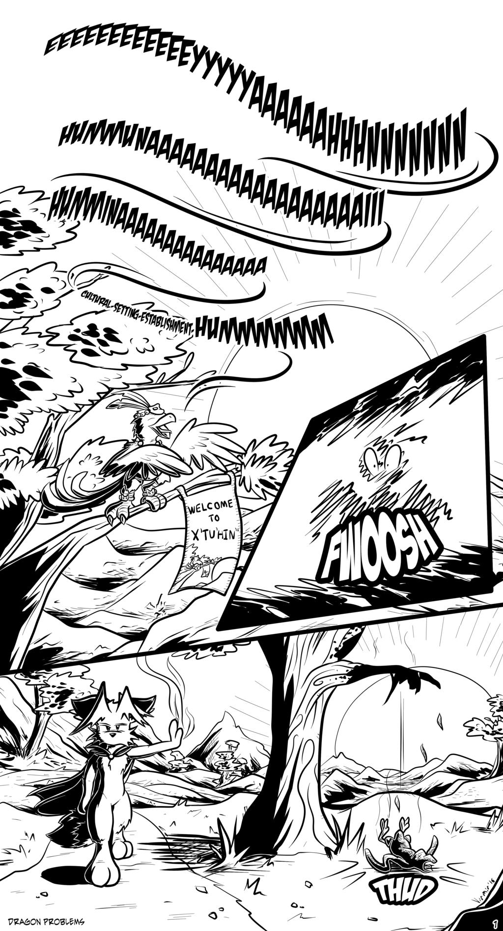 Dragon Problems, page 1