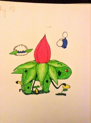 Day 02 Ivysaur and Friends