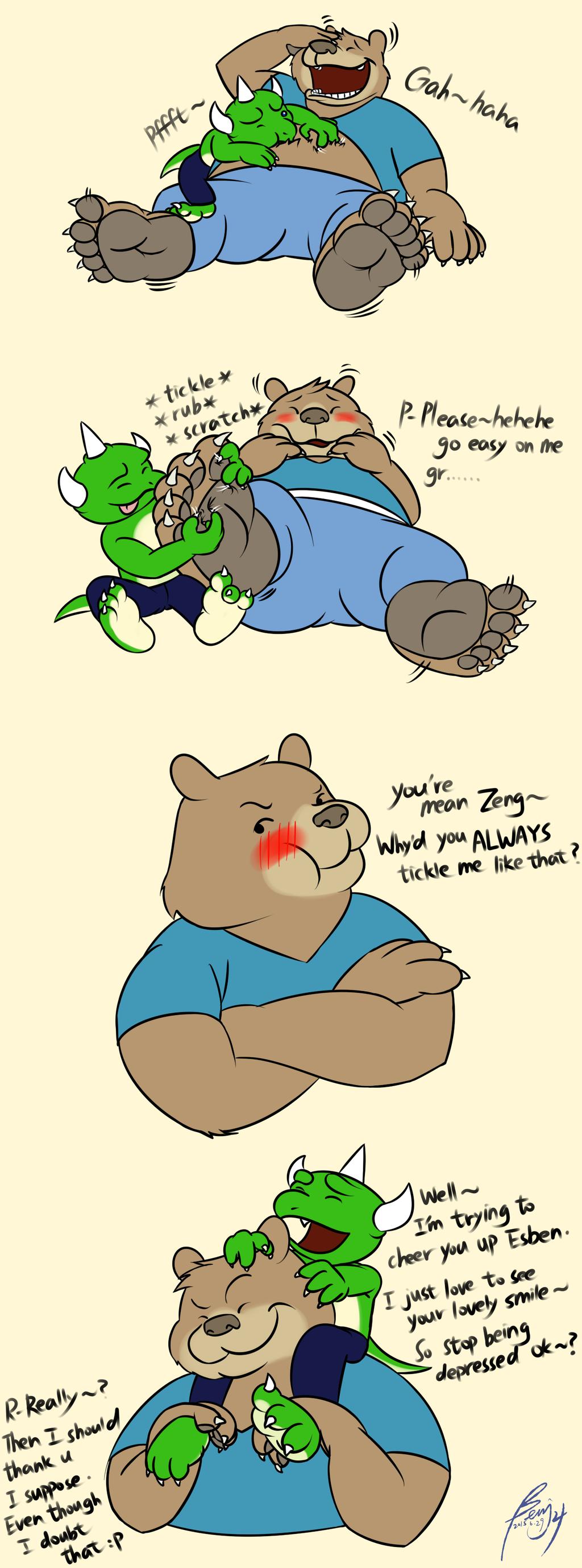 A Way to Cheer Bear Up :P