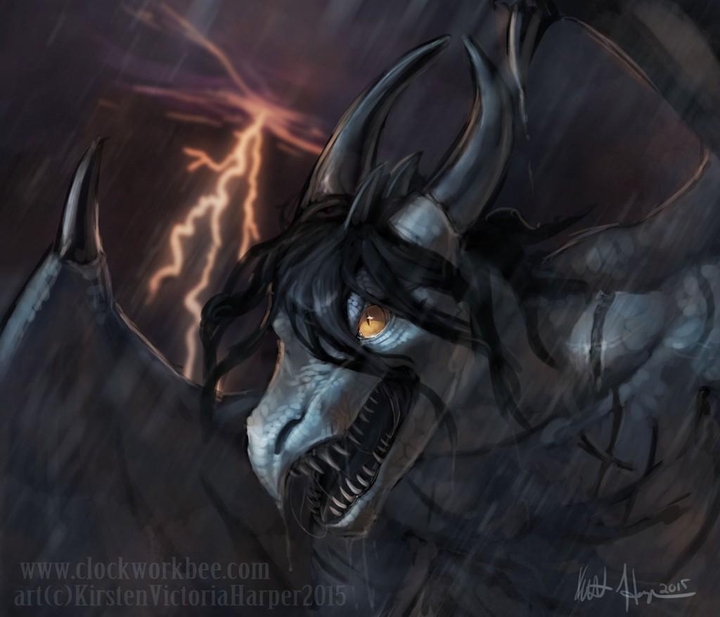 [Gift by Brunalli drawn by Tidmatiger]..Unstoppable Evil..