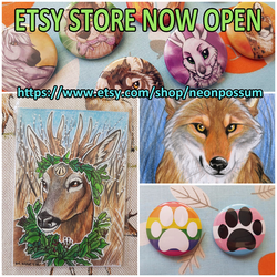 Etsy Store Open!