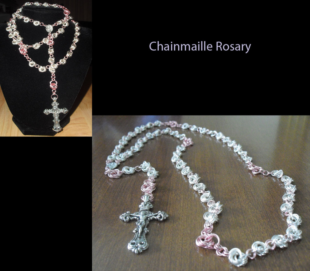 Chainmaille Rosary