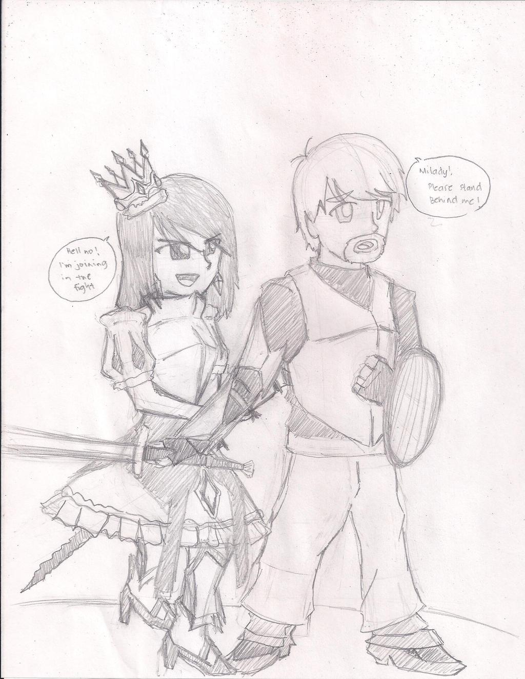 The Princess and Her Knight