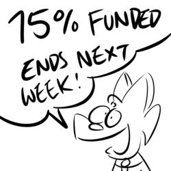 Kickstarter status: 75% Funded! Ends next week!