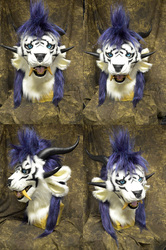 Male Charr Head