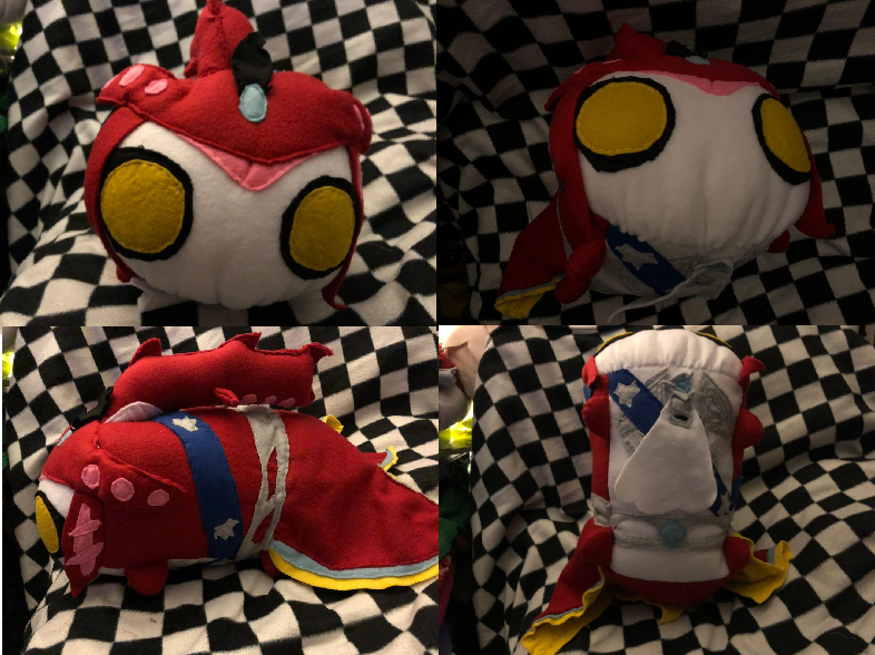 Breath of the Wild Prince Sidon Large Stacking Plush Commission