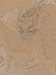Toned Paper Dragon