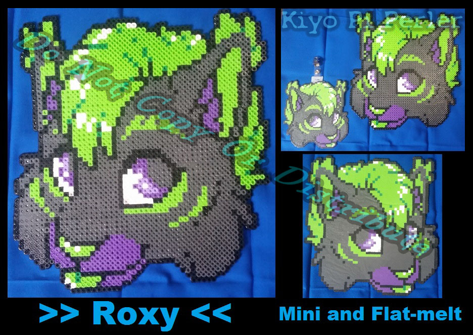 Roxy The Lynx Head-Shot (Original Pattern)