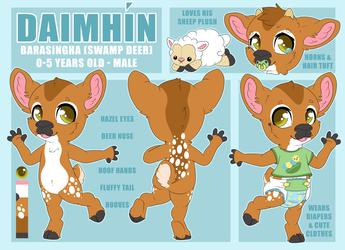 Daimhín Reference Sheet (Fawn)