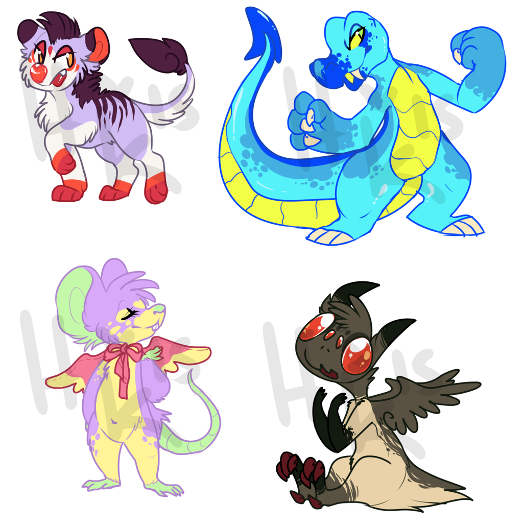 assorted 6$ adopts