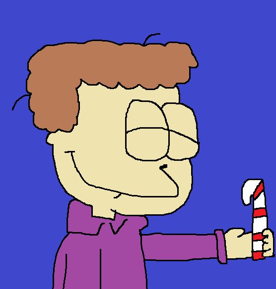 Most recent image: Jon with a Candy Cane