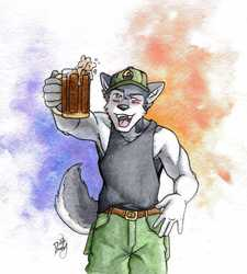 $35 Watercolor Commission Example