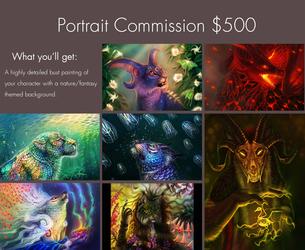 Portrait Commission OPEN!