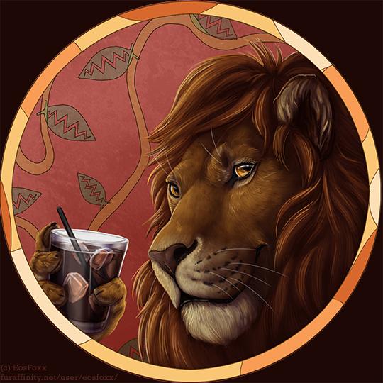 Lion with Khalua