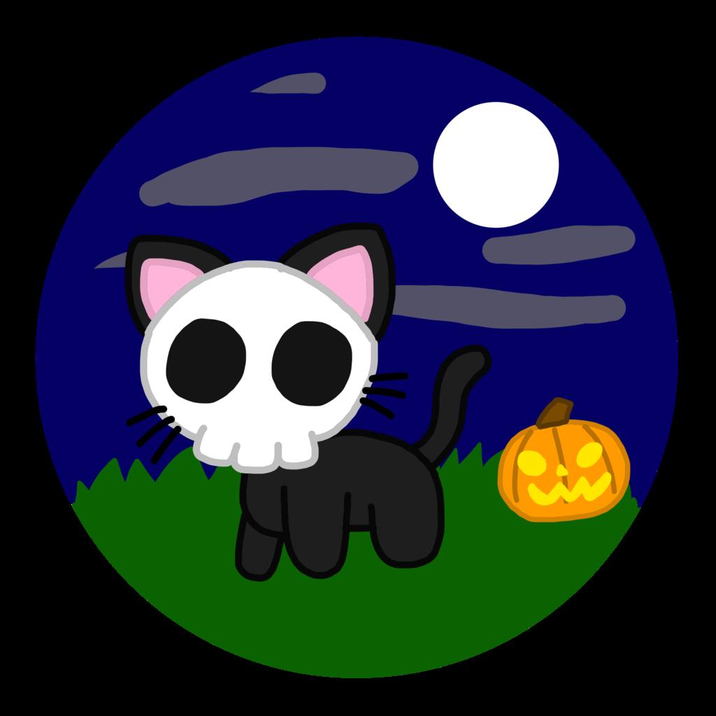 Kawaii-o-Ween 2017: Skeleton Black Cat