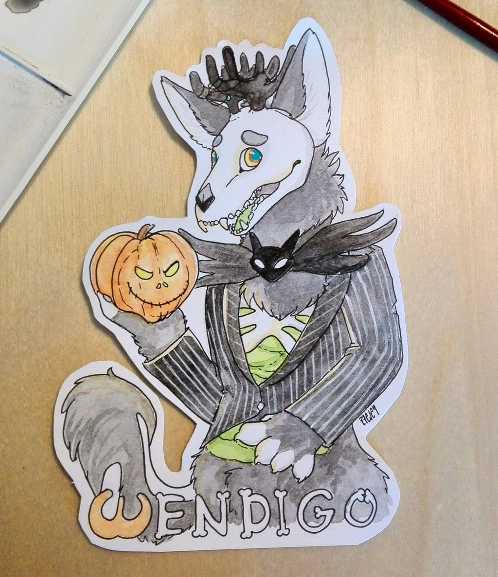 Halloween Wendigo