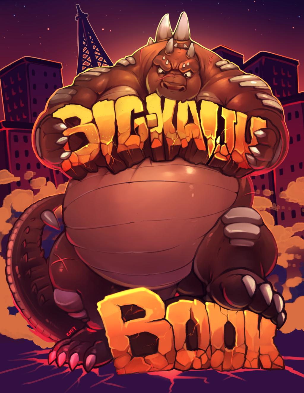Big Kaiju Book @ BLFC Details!