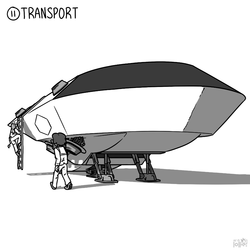 "Inktober 2016 - #11 ""Transport"""