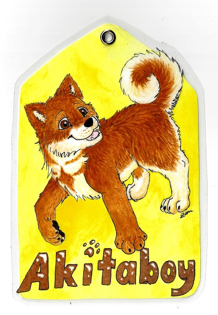 Badge for Akitaboy