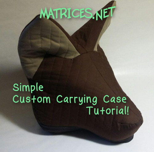 Tutorial: Simple Custom Fursuit Carrying Case