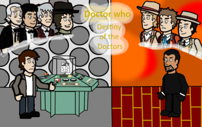 The destiny of the Doctors poster