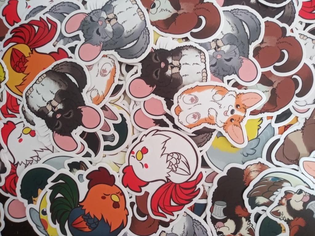 AnimaBean Sticker Shop!