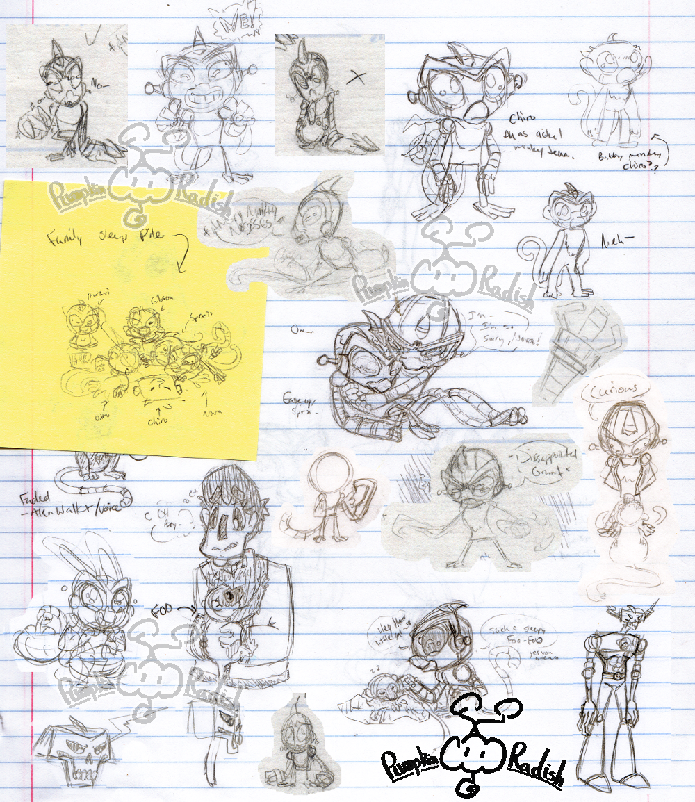 Scrap - Monkey Sketchdump 4/26/17