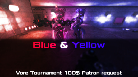 Blue & Yellow - $100 Patreon request
