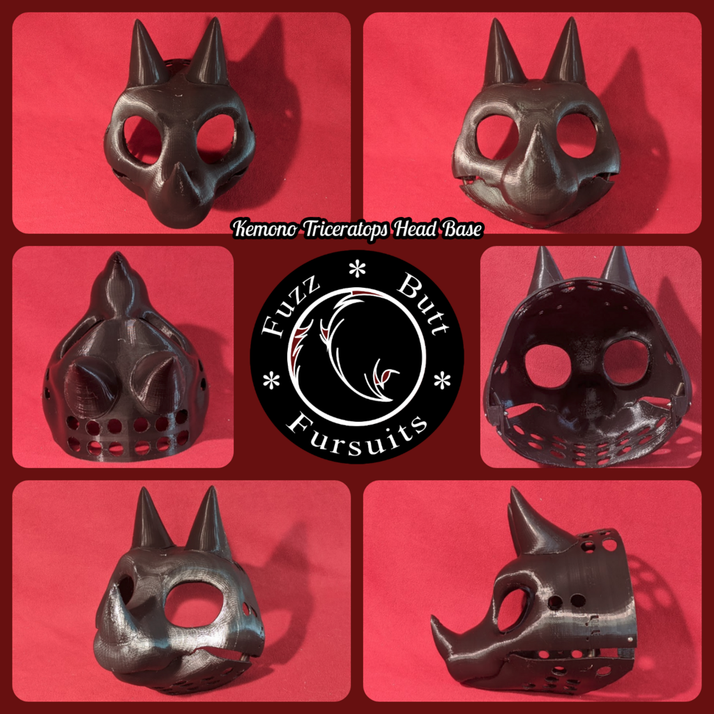 Most recent image: Kemono Triceratops Head Base