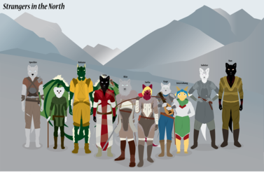 Strangers in The North