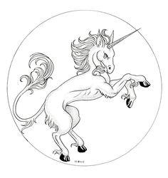 Inktober 11 / Unicorn