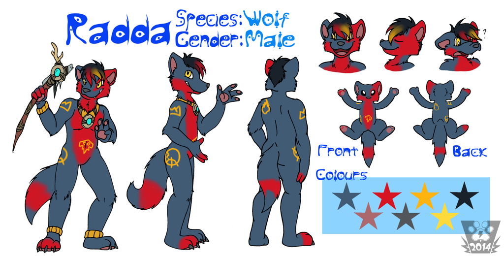Featured image: Radda Reference Sheet