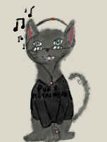 Most recent image: Musical Cat