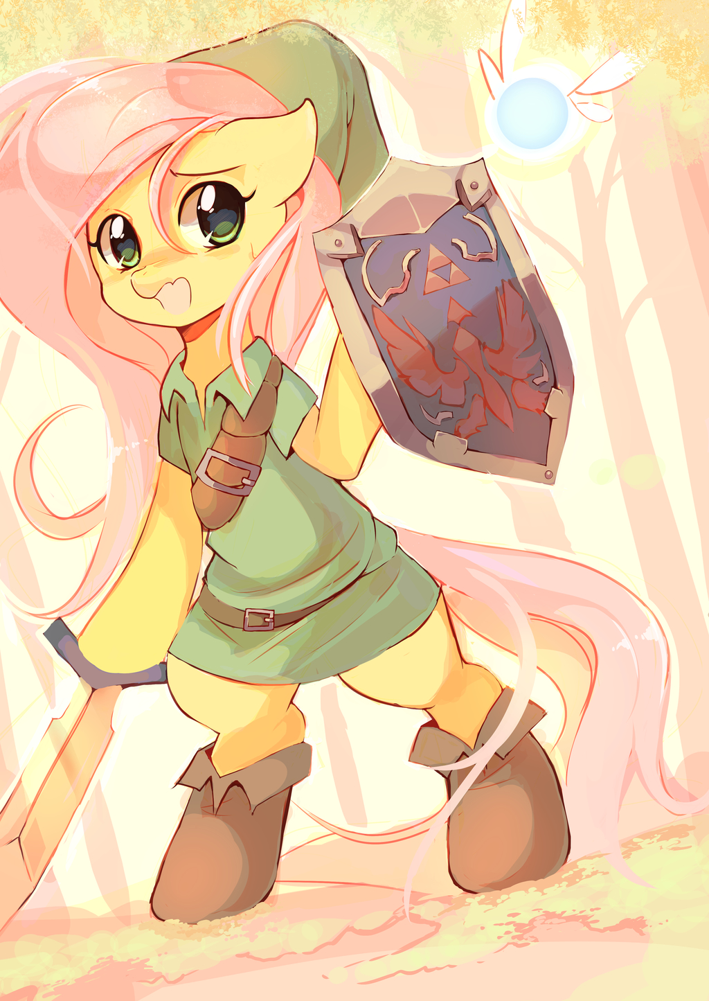 Most recent image: Fluttershy - Hero of Time