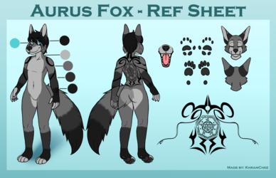 Aurus Fox - Ref Sheet Commission
