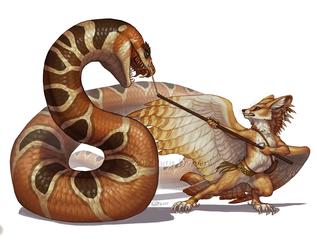 TeaFeathers - Sa'Dimali Snake Wrangler