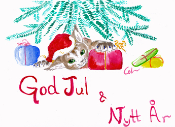 christmas and happy new year card 2