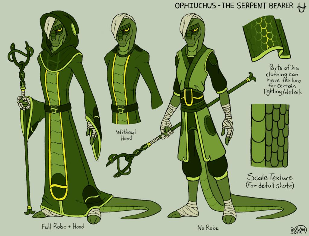 Ophiuchus - Clothing Breakdown